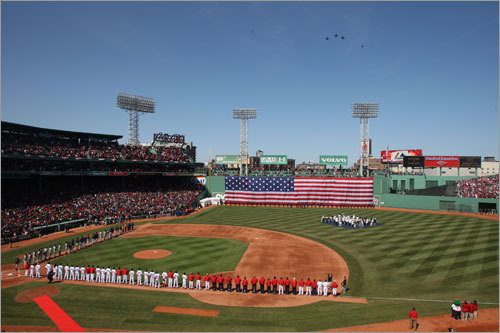 Red Sox Opening Day Around theCorner