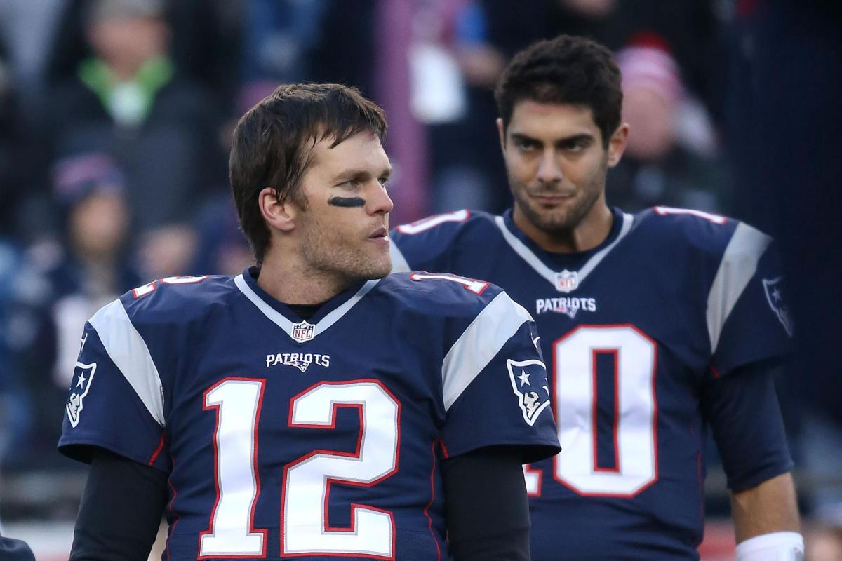 Jimmy G Remains in the League of Tom Brady'sShadow