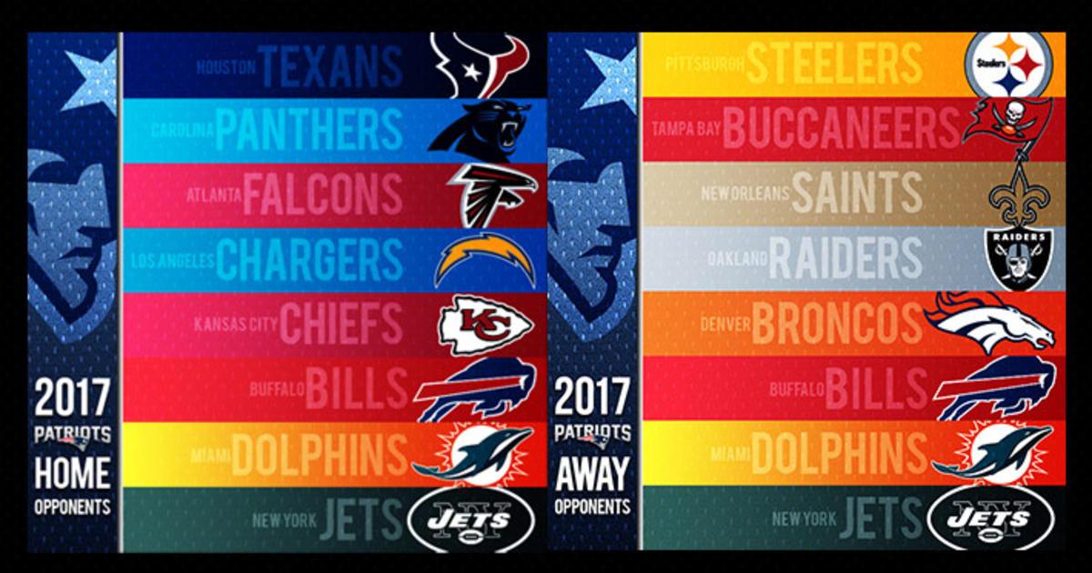 Patriots 2017 Non-DivisionalMatch-ups