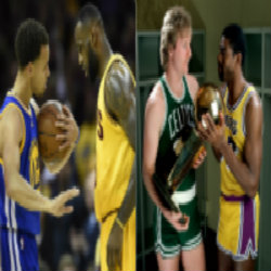 Hate to say it but Cavs-Warriors are next Celtics-Lakers