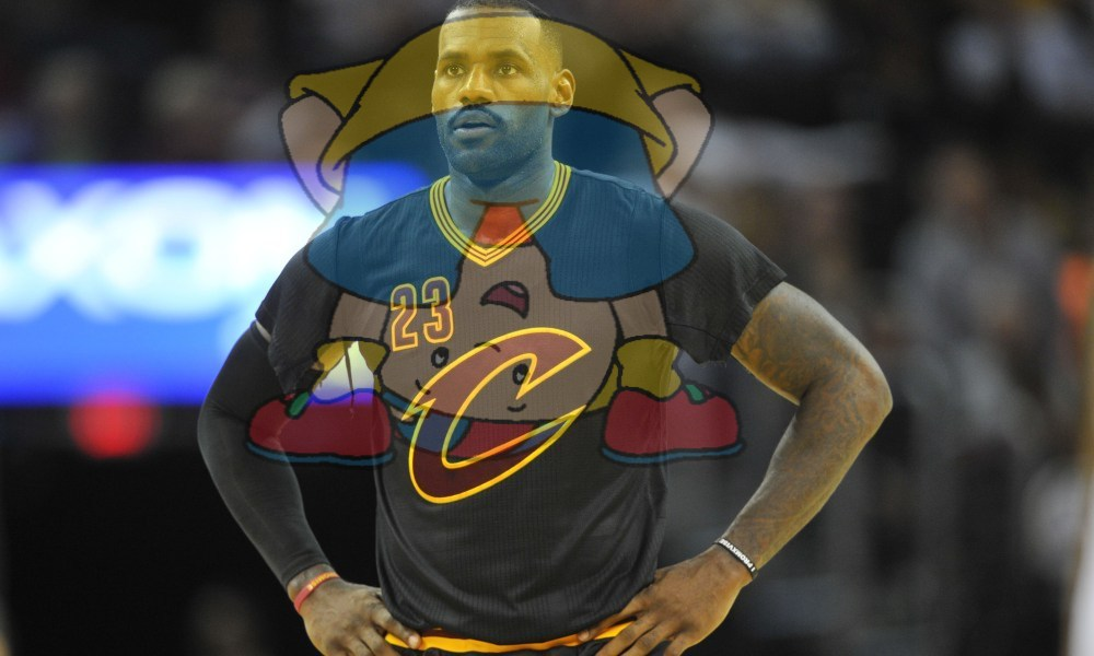 Lebron James is worse than Caillou